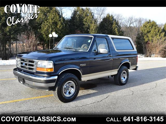 1993 Ford Bronco (CC-1318079) for sale in Greene, Iowa