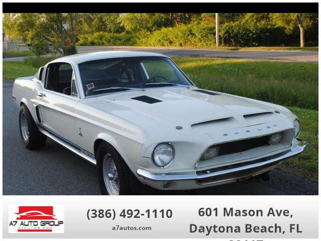 1968 Shelby GT500 (CC-1318157) for sale in Holly Hill, Florida