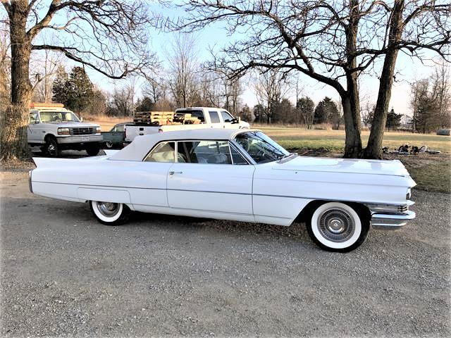 1963 Cadillac 2-Dr Convertible (CC-1318223) for sale in SIDNEY, Ohio