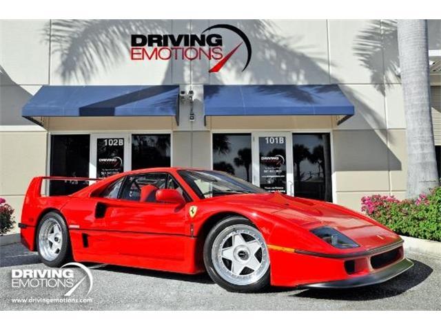 1992 Ferrari F40 (CC-1310841) for sale in West Palm Beach, Florida