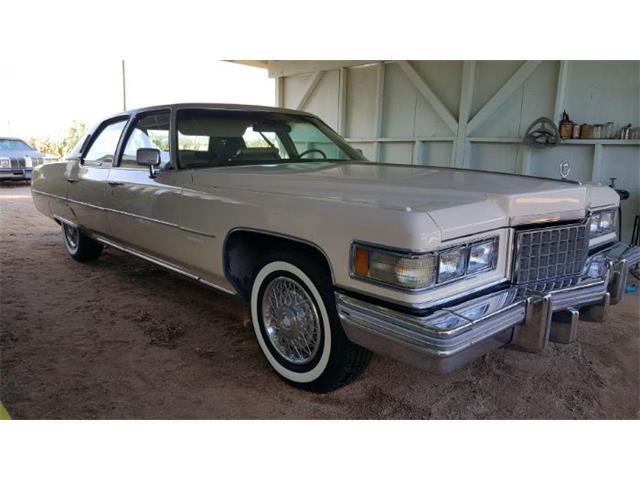1976 Cadillac Fleetwood (CC-1318473) for sale in Cadillac, Michigan