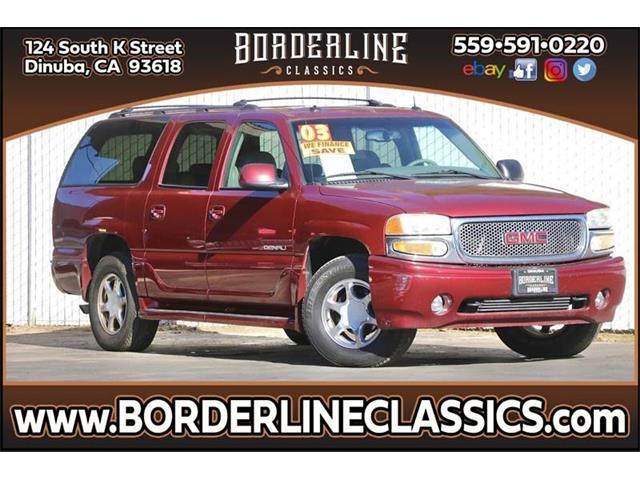 2003 GMC Yukon (CC-1318504) for sale in Dinuba, California