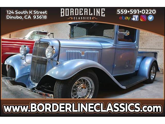 1934 Ford Model A (CC-1318527) for sale in Dinuba, California