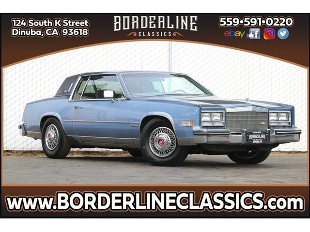 1983 Cadillac Eldorado (CC-1318528) for sale in Dinuba, California