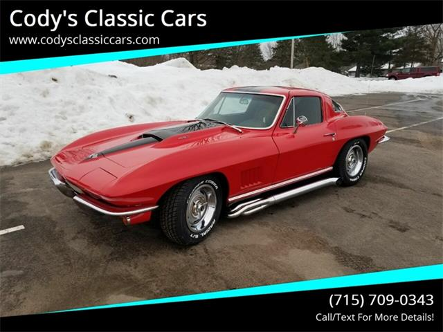 1967 Chevrolet Corvette (CC-1310868) for sale in Stanley, Wisconsin