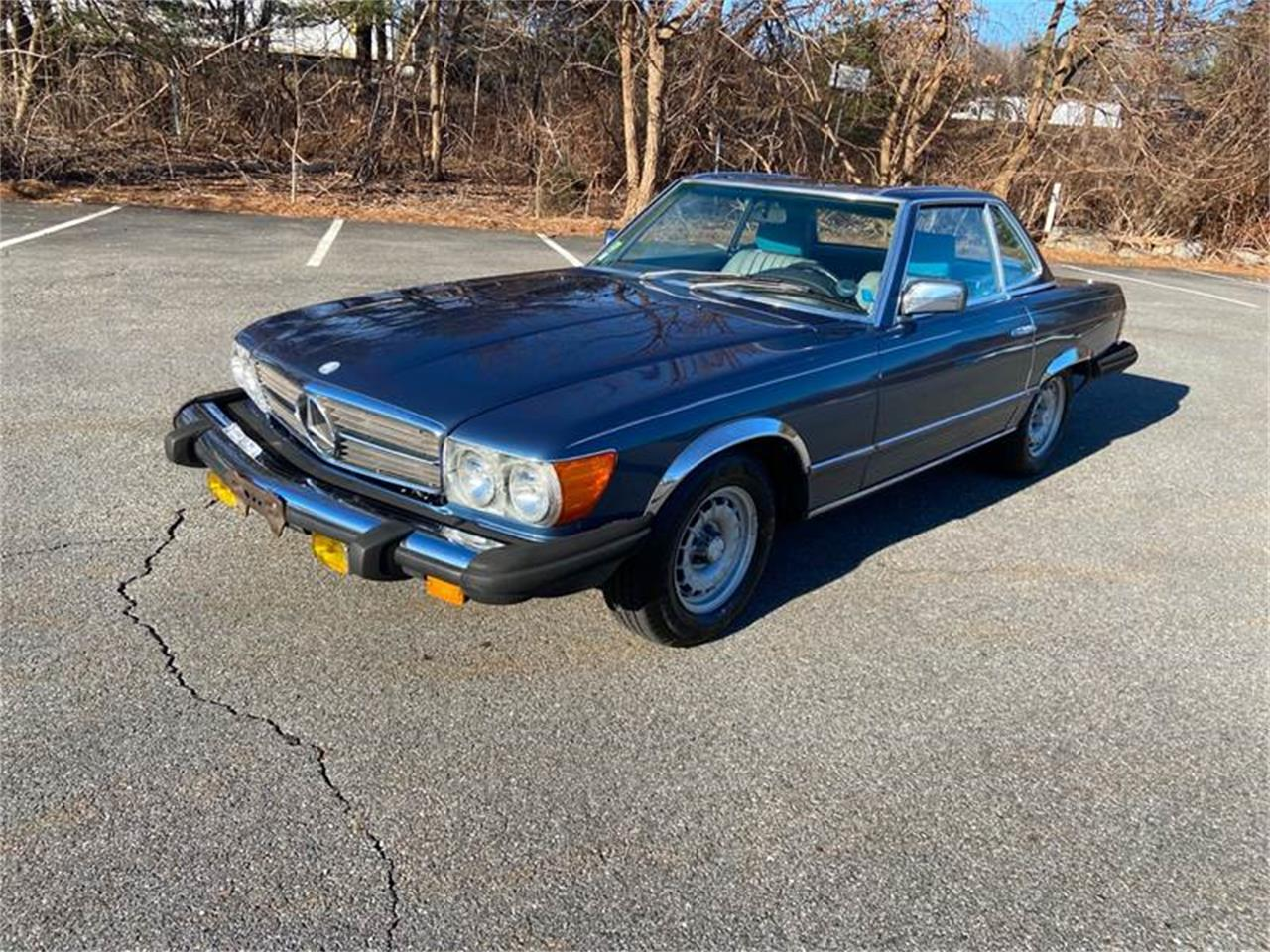 1983 Mercedes-Benz 380SL (CC-1318807) for sale in Westford, Massachusetts