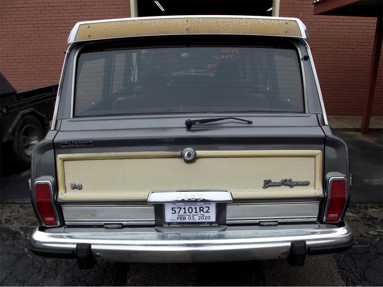 1990 Jeep Grand Wagoneer (CC-1318864) for sale in wichita Falls, Texas
