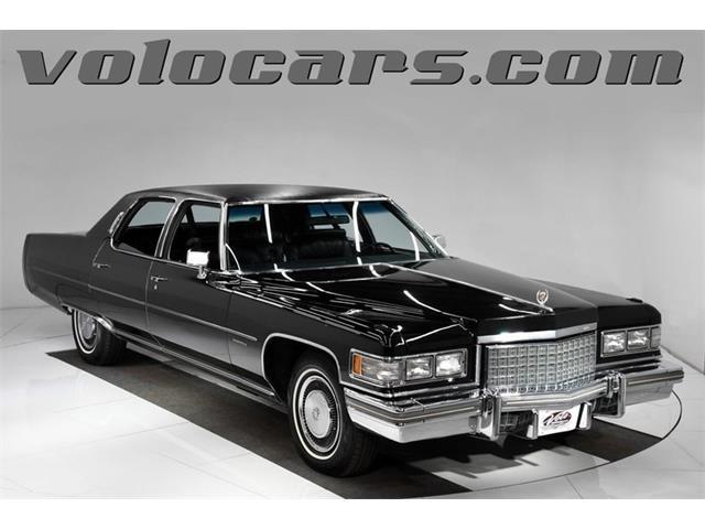 1976 Cadillac Fleetwood (CC-1318905) for sale in Volo, Illinois