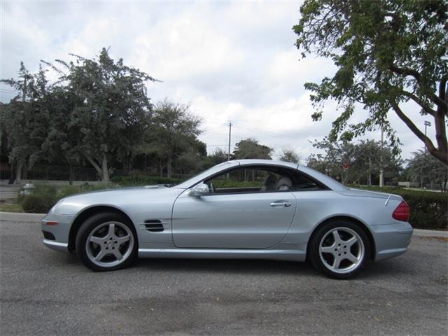 2003 Mercedes-Benz SL500 (CC-1318984) for sale in Delray Beach, Florida