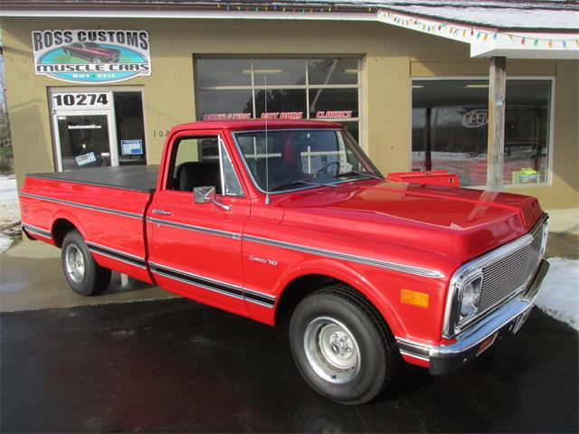 1972 Chevrolet C10 (CC-1319035) for sale in Goodrich, Michigan