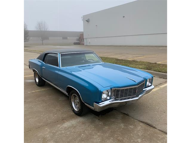 1972 Chevrolet Monte Carlo (CC-1319497) for sale in Macomb, Michigan