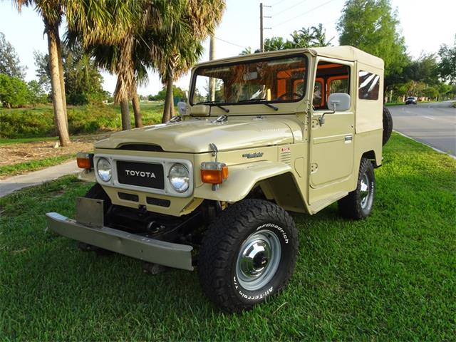 1982 Toyota Land Cruiser FJ