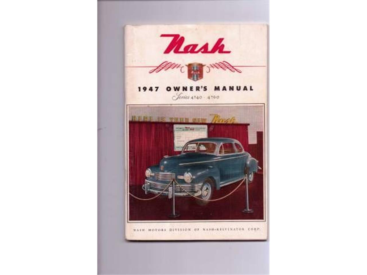 1947 Nash Ambassador (CC-1319757) for sale in Cadillac, Michigan