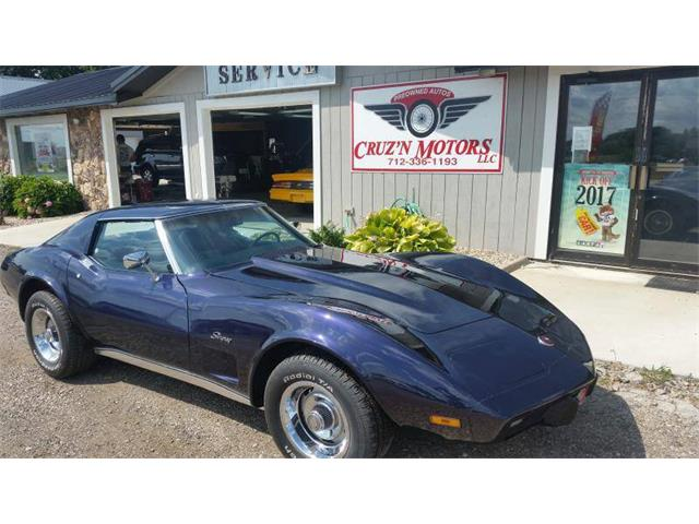 1975 Chevrolet Corvette (CC-1310998) for sale in Spirit Lake, Iowa