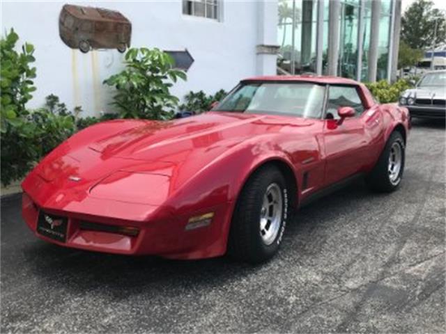 1982 Chevrolet Corvette (CC-1321022) for sale in Miami, Florida