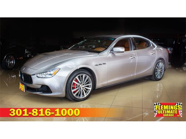 2016 Maserati Ghibli (CC-1321352) for sale in Rockville, Maryland
