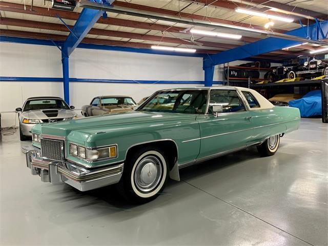 1975 Cadillac DeVille (CC-1321461) for sale in NORTH ROYALTON, OHIO (OH)