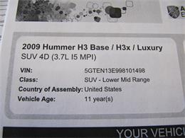 2009 Hummer H3 (CC-1321475) for sale in Omaha, Nebraska
