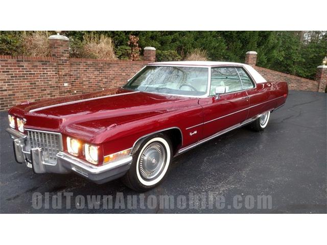 1971 Cadillac Coupe (CC-1321944) for sale in Huntingtown, Maryland