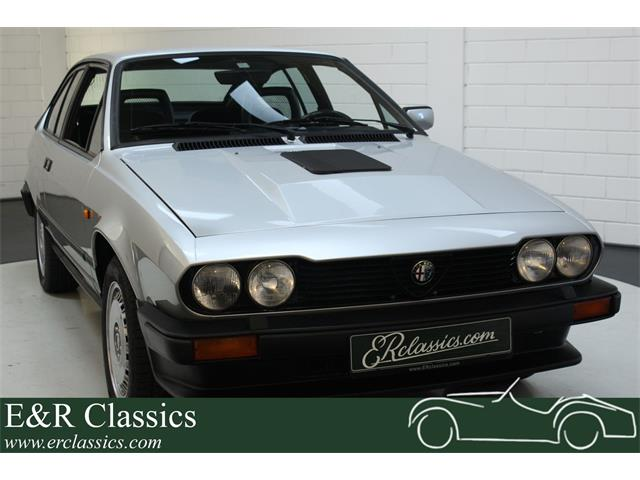1984 Alfa Romeo GTV