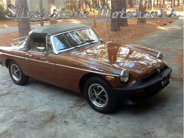 1980 MG MGB (CC-1322108) for sale in North Andover, Massachusetts