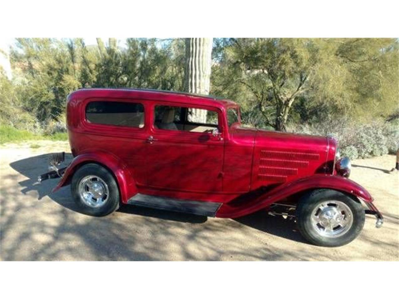 1932 Ford Sedan (CC-1322149) for sale in Cadillac, Michigan