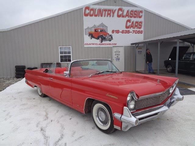 1959 Lincoln Continental Mark IV (CC-1322380) for sale in Staunton, Illinois