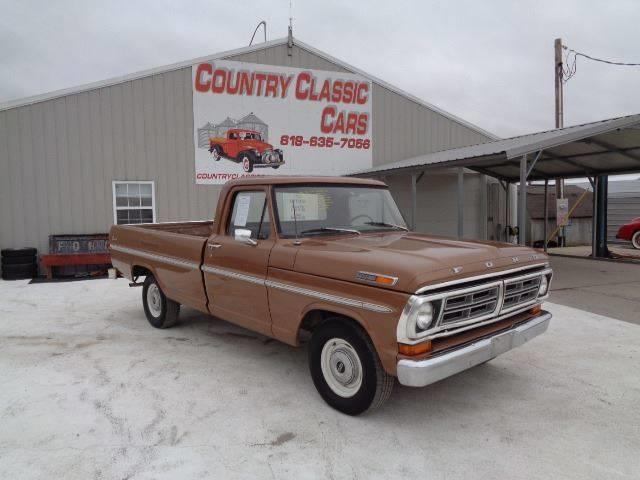 1972 Ford F100 (CC-1322383) for sale in Staunton, Illinois