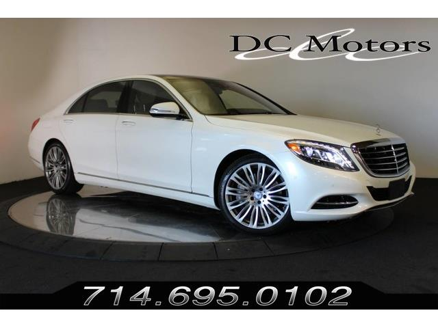 2017 Mercedes-Benz S-Class (CC-1322448) for sale in Anaheim, California