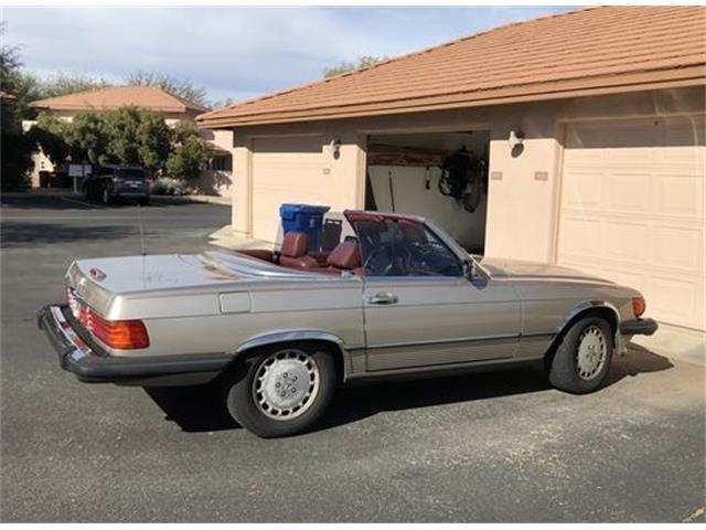 1989 Mercedes-Benz 560SL (CC-1322529) for sale in Geen Valley, Arizona