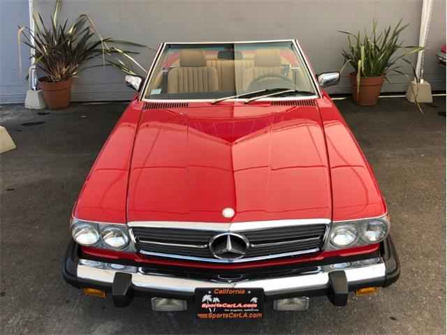 1986 Mercedes-Benz 560 (CC-1322610) for sale in Los Angeles, California