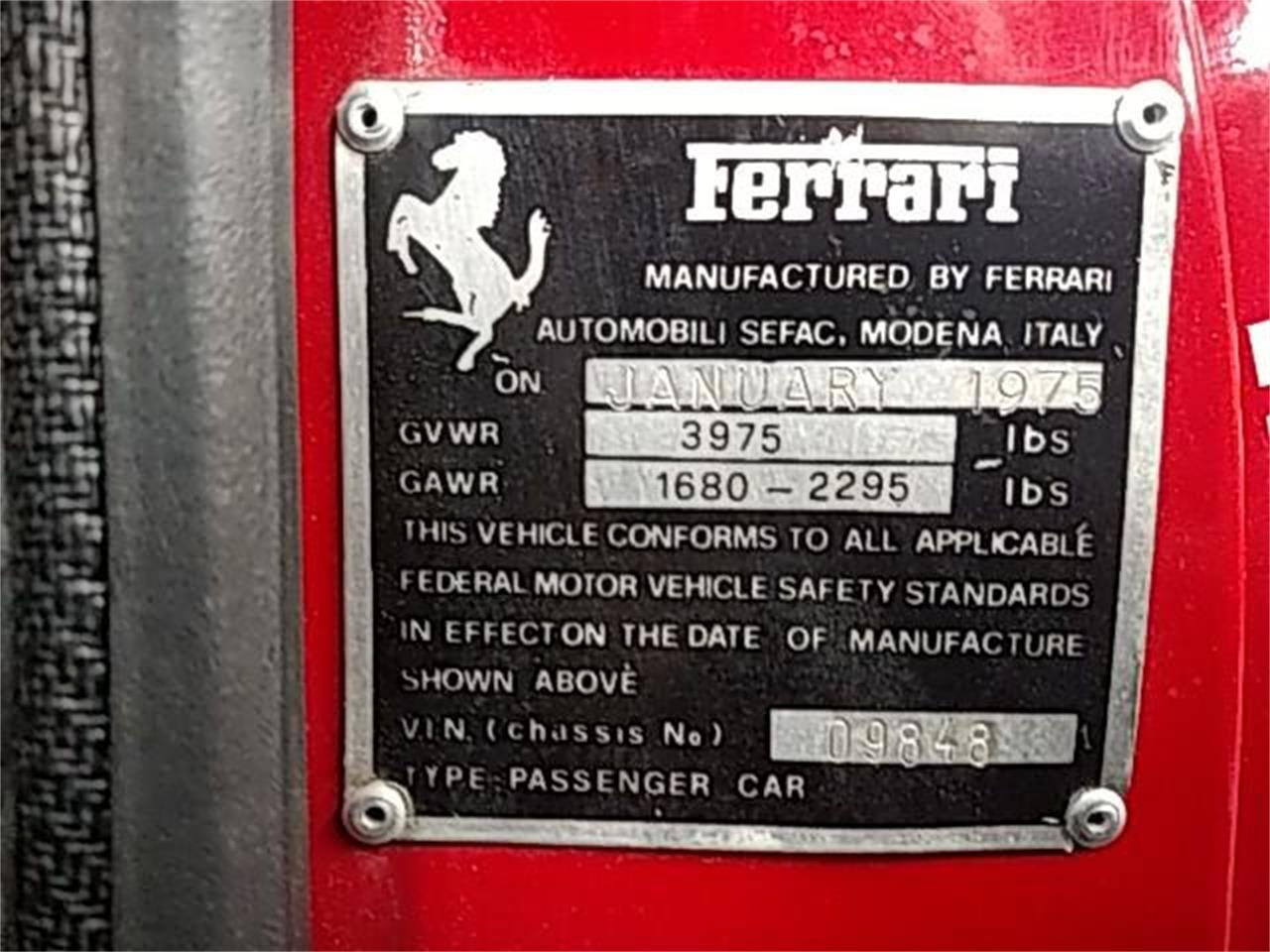1975 Ferrari 308 GT/4 (CC-1322767) for sale in North Hollywood, California