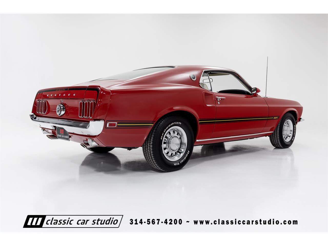 1969 Ford Mustang Mach 1 (CC-1322790) for sale in Saint Louis, Missouri