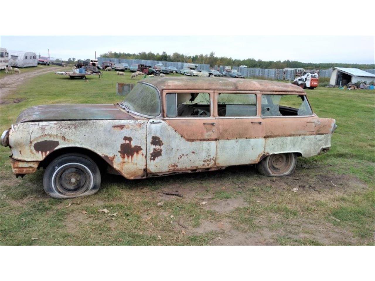1955 Pontiac Wagon (CC-1322996) for sale in Parkers Prairie, Minnesota