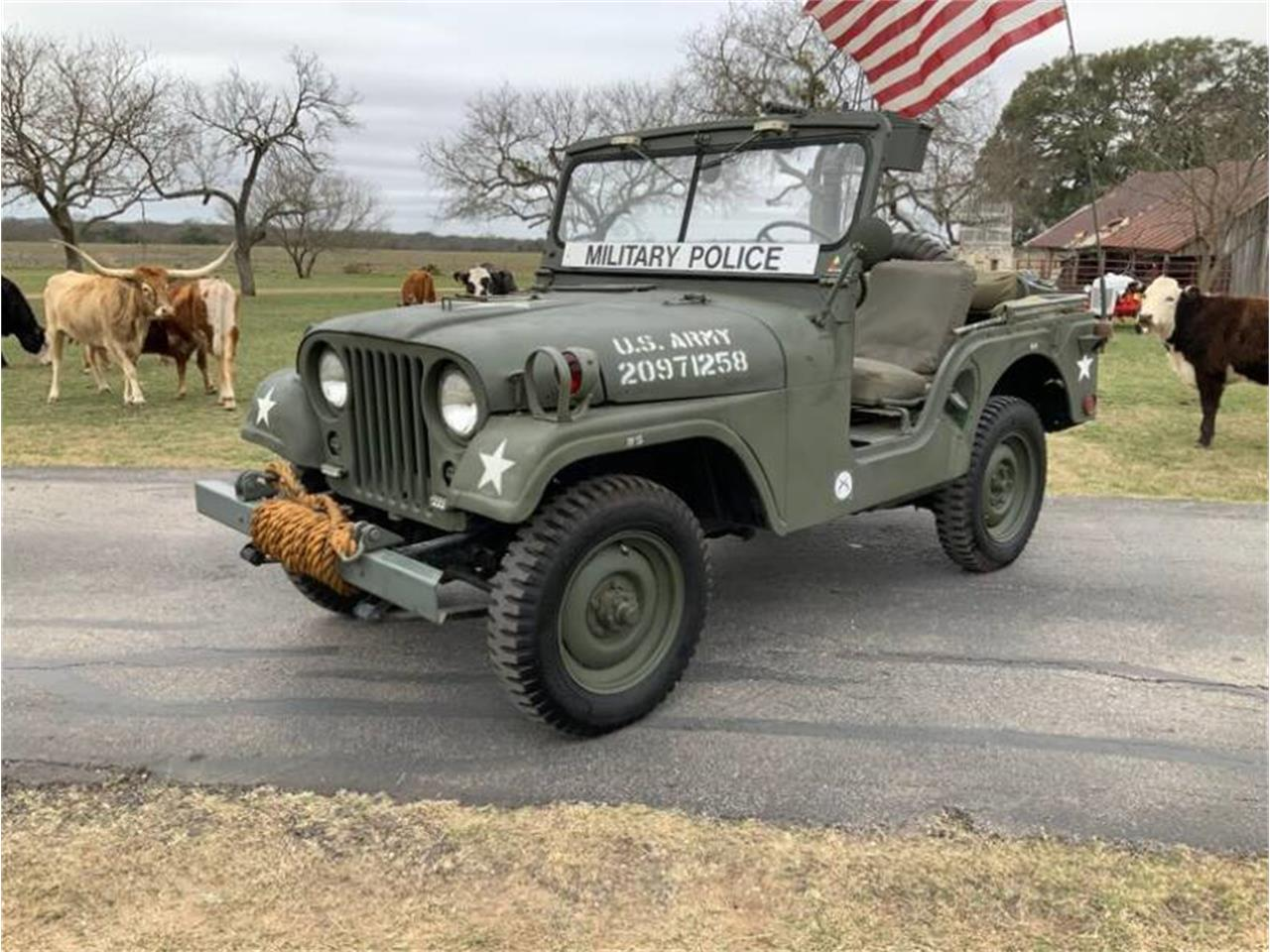 1955 Willys Jeep (CC-1323153) for sale in Fredericksburg, Texas