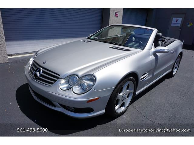 2005 Mercedes-Benz 500SL (CC-1323313) for sale in Boca Raton, Florida