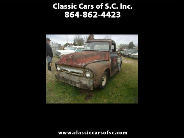 1955 Ford F100 (CC-1320370) for sale in Gray Court, South Carolina