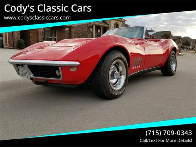 1968 Chevrolet Corvette (CC-1320383) for sale in Stanley, Wisconsin