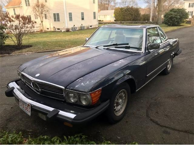 1981 Mercedes-Benz 380SL (CC-1320391) for sale in Cadillac, Michigan