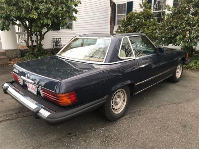 1981 Mercedes-Benz 380SL (CC-1320391) for sale in Cadillac, Michigan