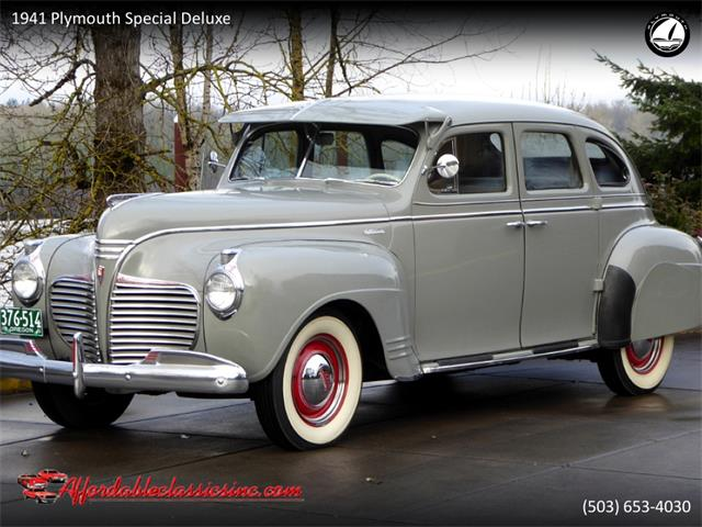 1941 Plymouth Special Deluxe (CC-1320408) for sale in Gladstone, Oregon
