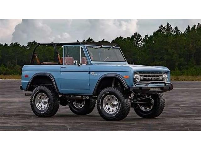 1969 Ford Bronco (CC-1320442) for sale in Carrollton, Texas