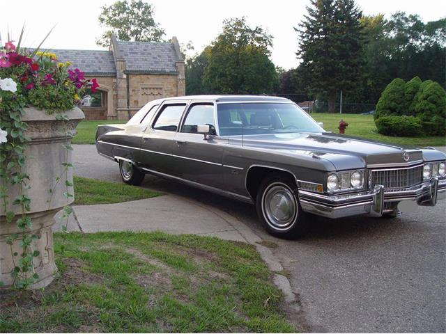 1973 Cadillac Fleetwood Limousine (CC-1320479) for sale in Sacramento, California