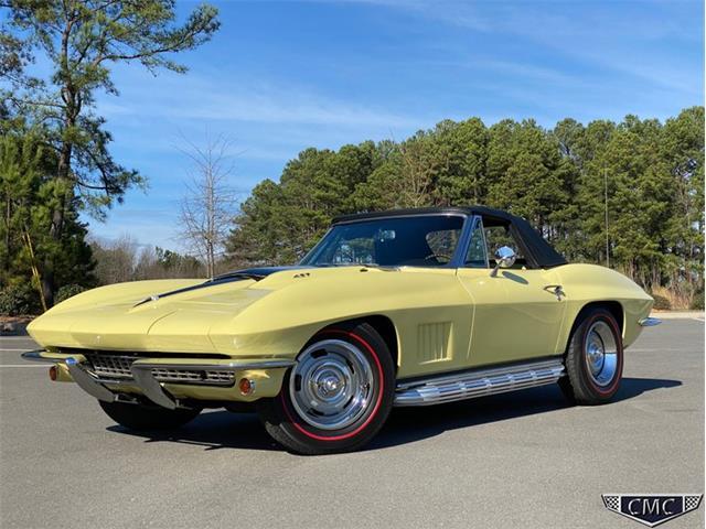 1967 Chevrolet Corvette (CC-1320528) for sale in Apex, North Carolina