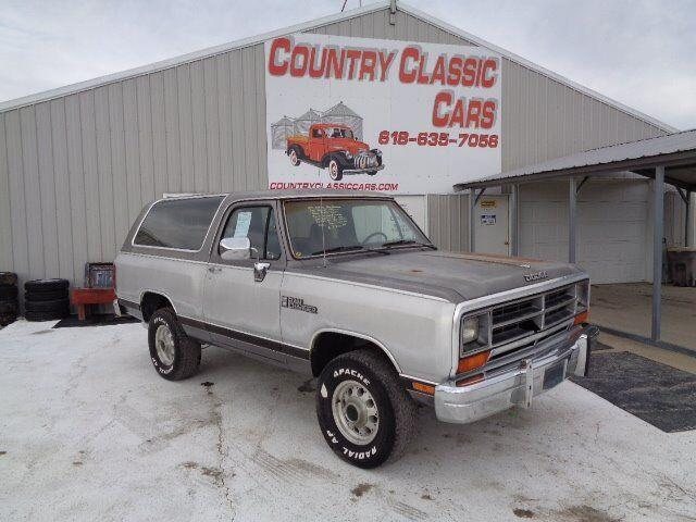 1989 Dodge Ramcharger (CC-1320056) for sale in Staunton, Illinois