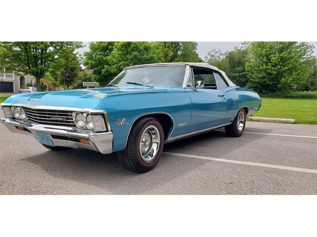 1967 Chevrolet Impala SS (CC-1320598) for sale in Toronto, Ontario