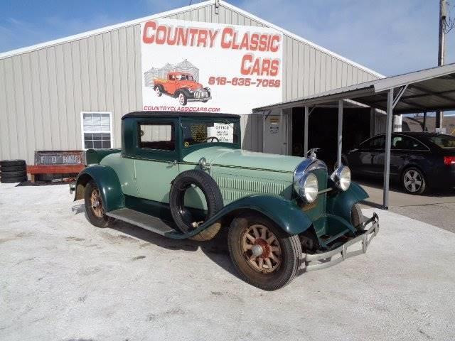 1929 Hudson Super 6 (CC-1320063) for sale in Staunton, Illinois