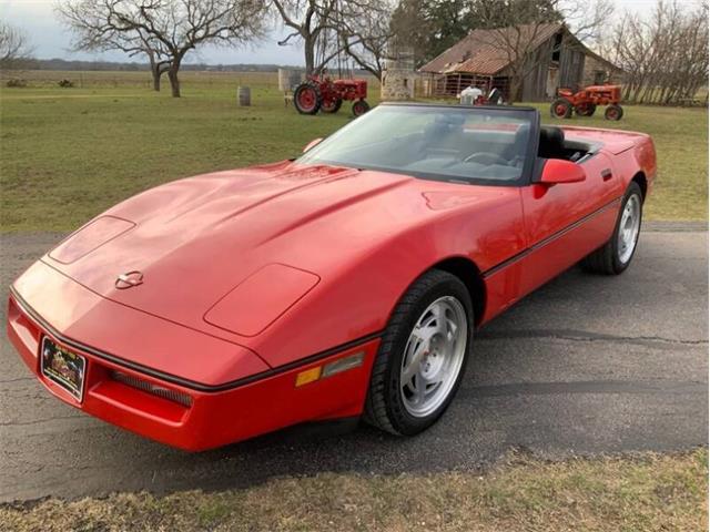 1990 Chevrolet Corvette (CC-1320720) for sale in Fredericksburg, Texas