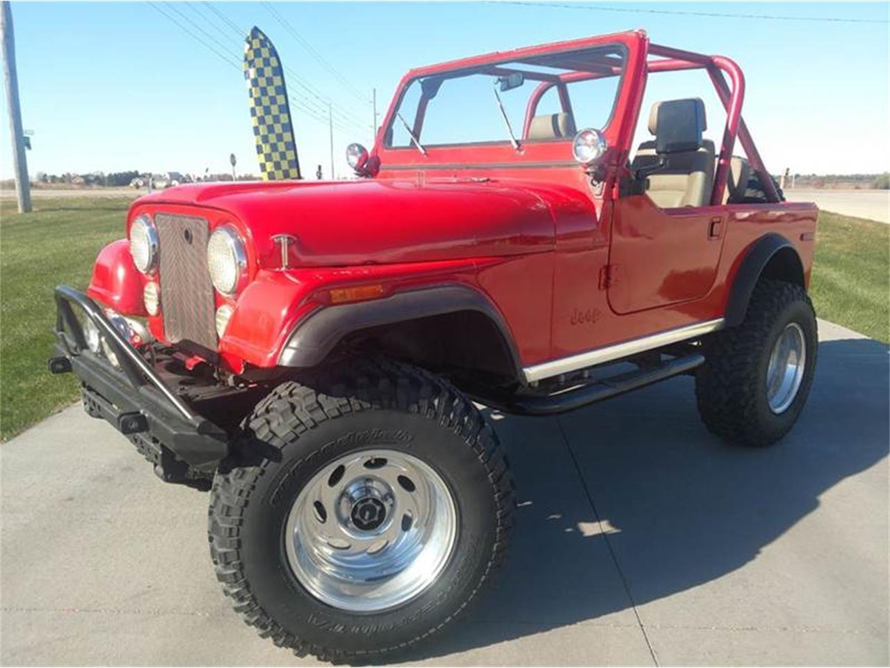 for sale 1980 jeep cj7 in west okoboji, iowa cars - milford, ia at geebo