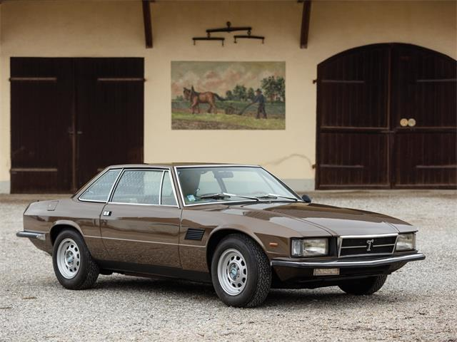 1978 De Tomaso Longchamp (CC-1327429) for sale in Essen, Germany